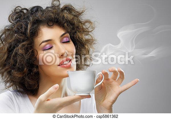 aromatic coffee - csp5861362