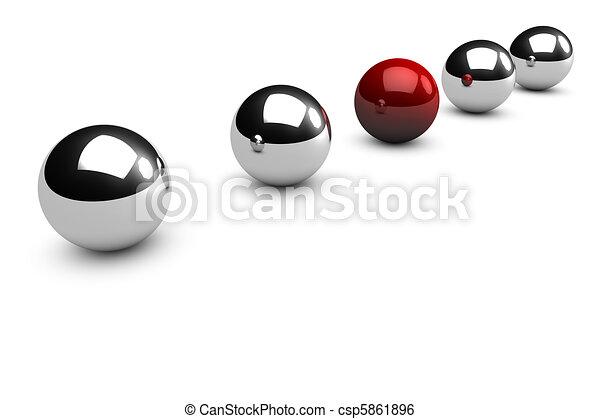 Individuality concept - csp5861896