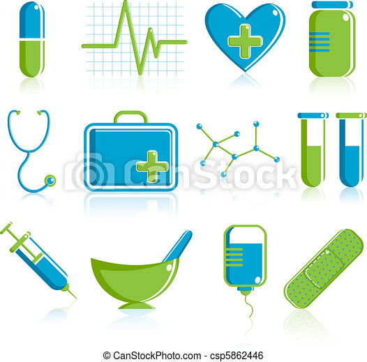 Medical Icon Set - csp5862446