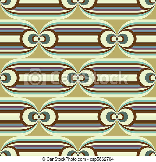 seamless oval slide pattern - csp5862704