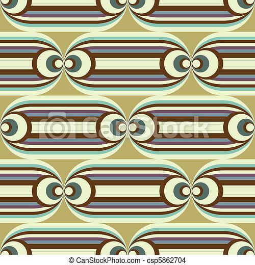 seamless oval slide pattern - csp5862704