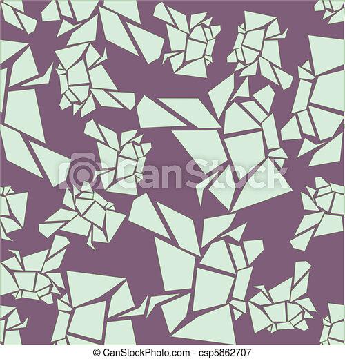 seamless lavender glacier pattern - csp5862707