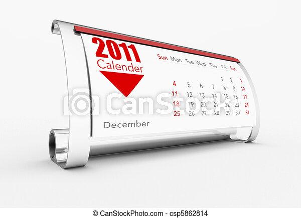 calendar - csp5862814