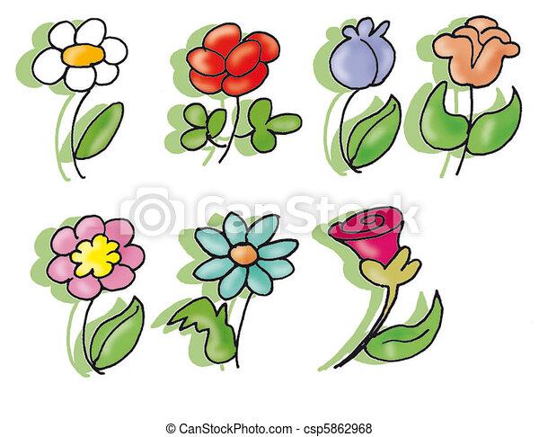 flowers - csp5862968