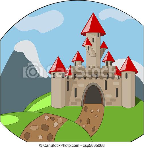 Castillos caricaturas - Imagui