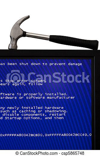 Computer Error - csp5865748