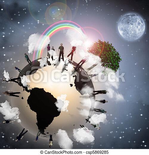 Eco Earth - csp5869285