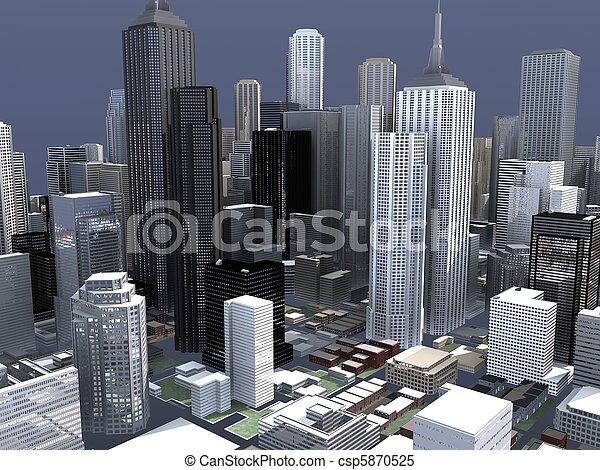 cidade, conceito - csp5870525