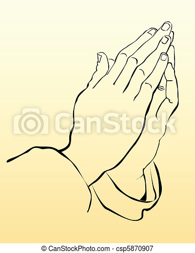 praying hands - csp5870907