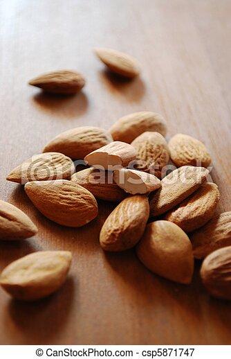 Almonds - csp5871747