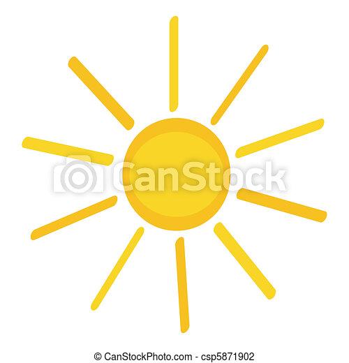 sun icon - csp5871902