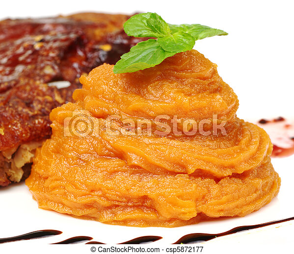 Sweet Potato Puree - csp5872177