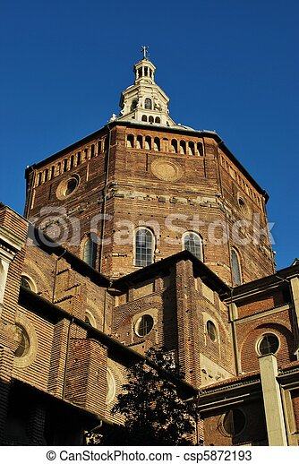 Cathedral, Pavia - csp5872193