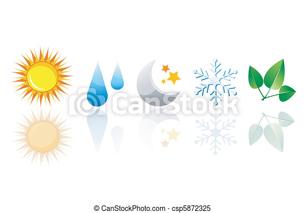 weather icons - csp5872325