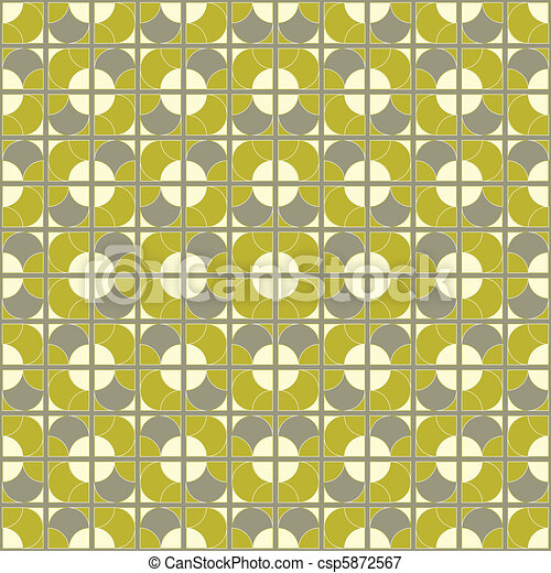 seamless mod tile pattern - csp5872567