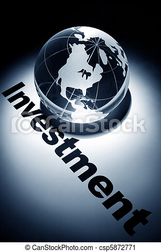 Global Investment - csp5872771
