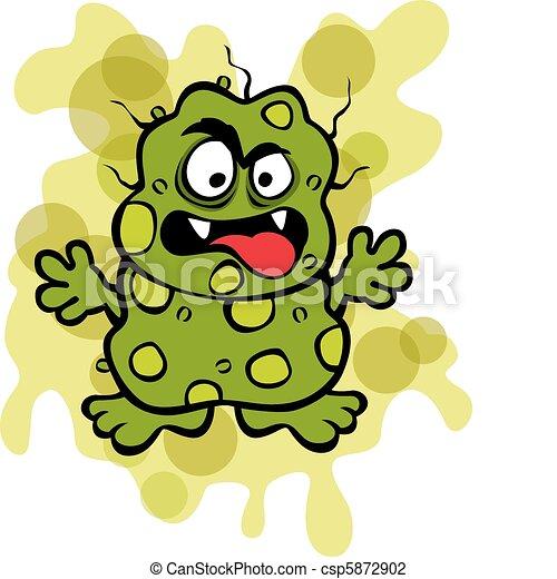 Vettore - sconcio, germe, microbo - archivi di illustrazioni