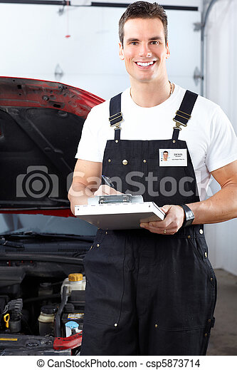 Auto mechanic - csp5873714