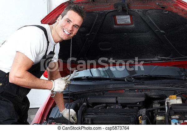 Auto mechanic - csp5873764