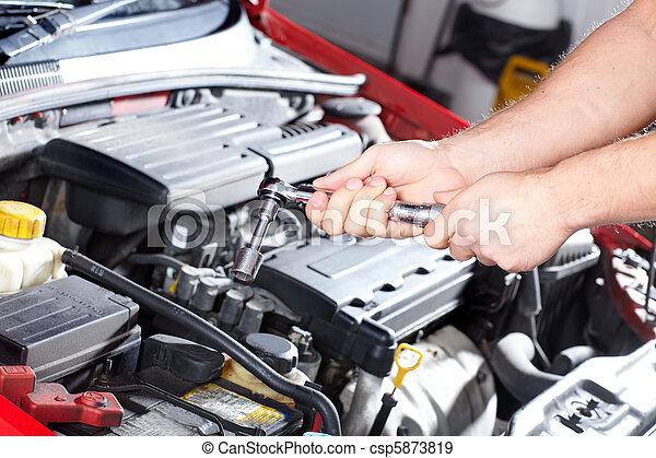 Auto service - csp5873819