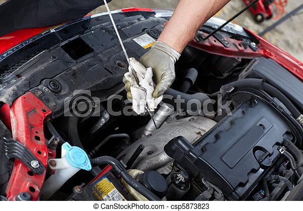 Auto service - csp5873823