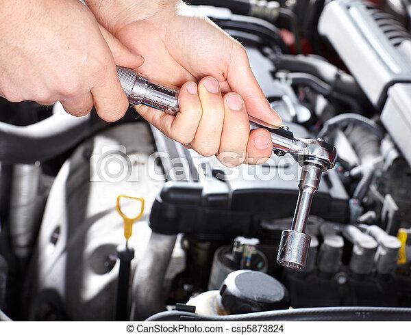 Auto service - csp5873824