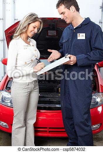 Auto shop - csp5874032