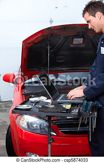 Auto mechanic - csp5874033
