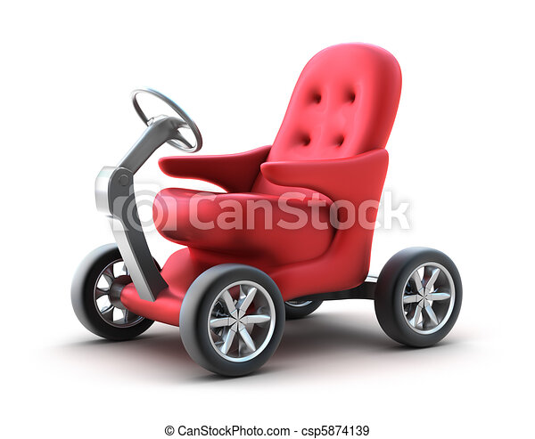 Small individual car. My Own Design - csp5874139