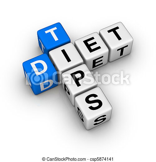 Diet Tips - csp5874141