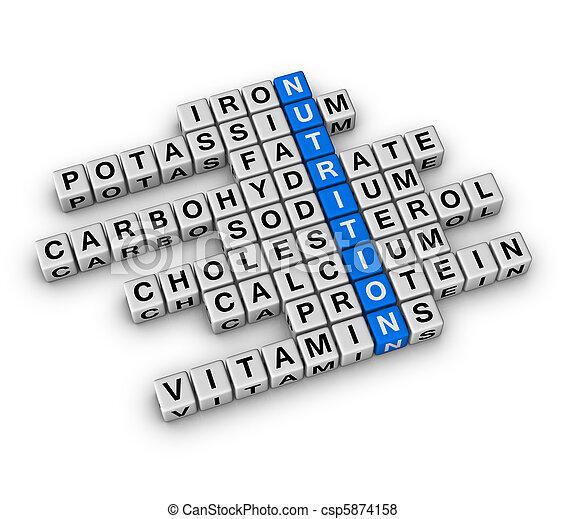 Nutrition Ingredient - csp5874158