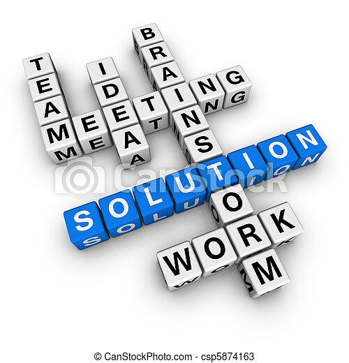 solution crossword - csp5874163