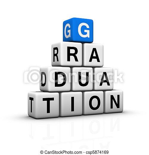 graduation pyramid - csp5874169