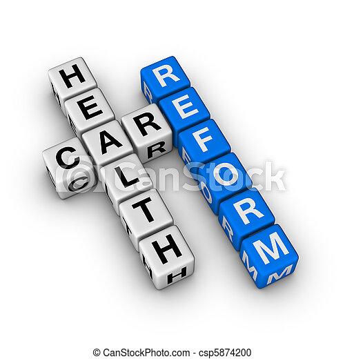 Healthcare Reform - csp5874200