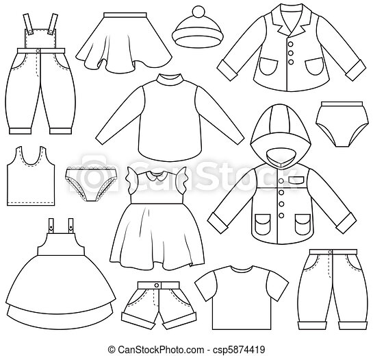 Children's Clothing - csp5874419