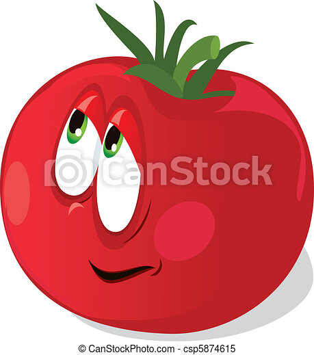 Ripe tomato - csp5874615