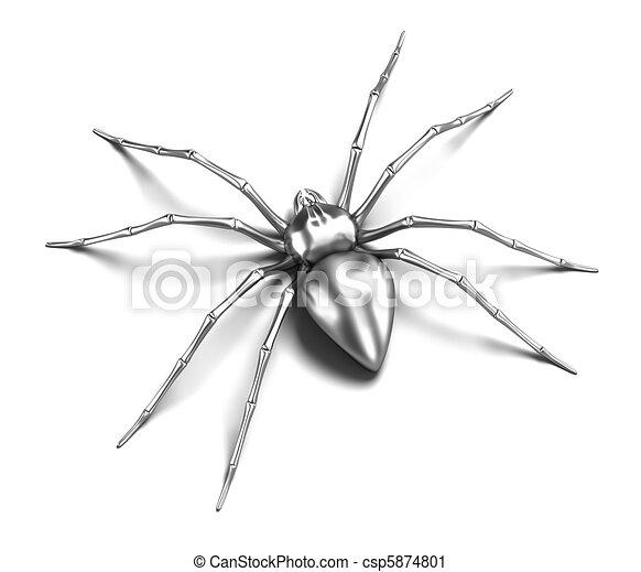 Spider - silver metallic - csp5874801