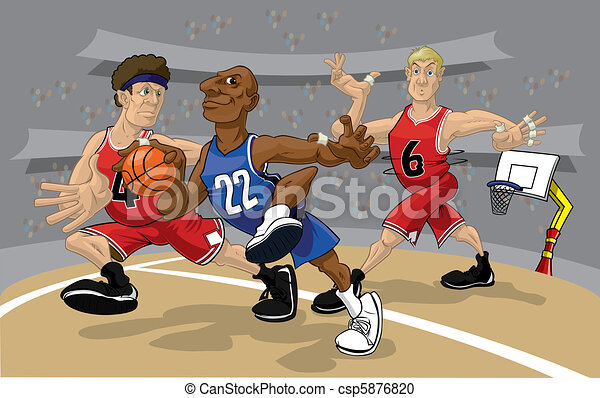 Basketball Rush 4 - csp5876820