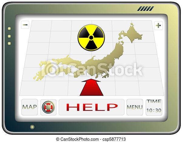 Navigator and Japan - csp5877713