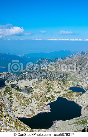Glacial lake in Retezat - csp5879317