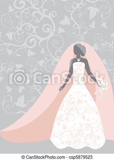 bride - csp5879523