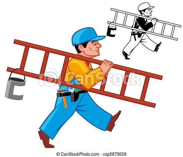 Maintenance man - csp5879559