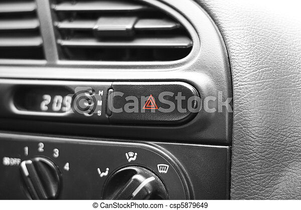 Car emergency button - csp5879649