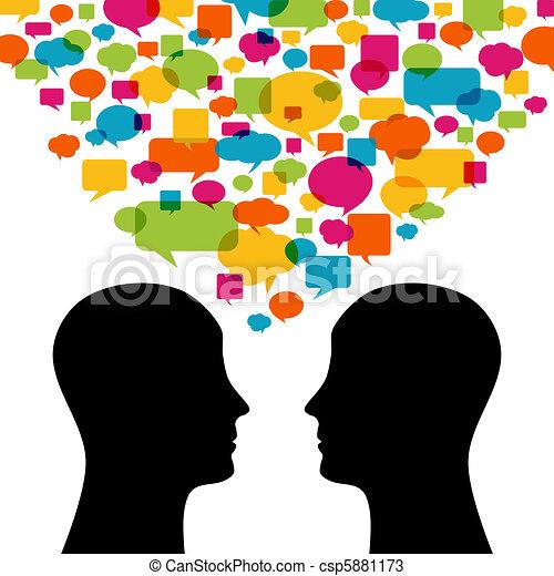 Talking - csp5881173