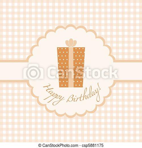 Happy Birthday - csp5881175