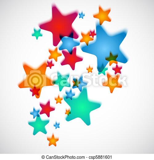 Shooting Stars - csp5881601