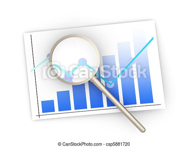 Financial analysis - csp5881720