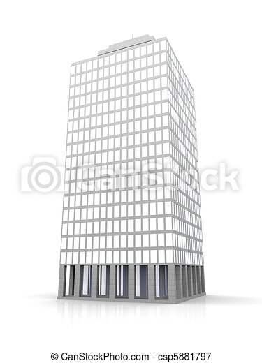 Urban building	 - csp5881797