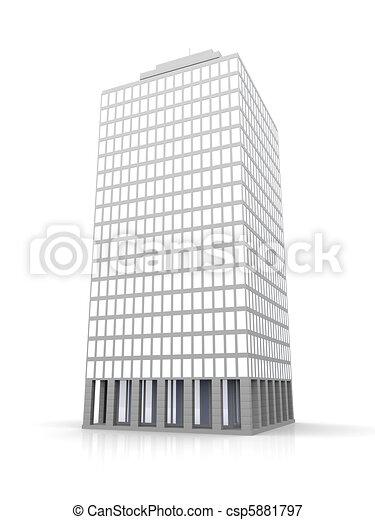 Urban building - csp5881797