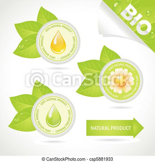Concept elements: Natural product  - csp5881933